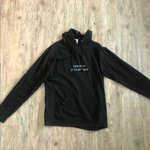 Tops - Black hoodie